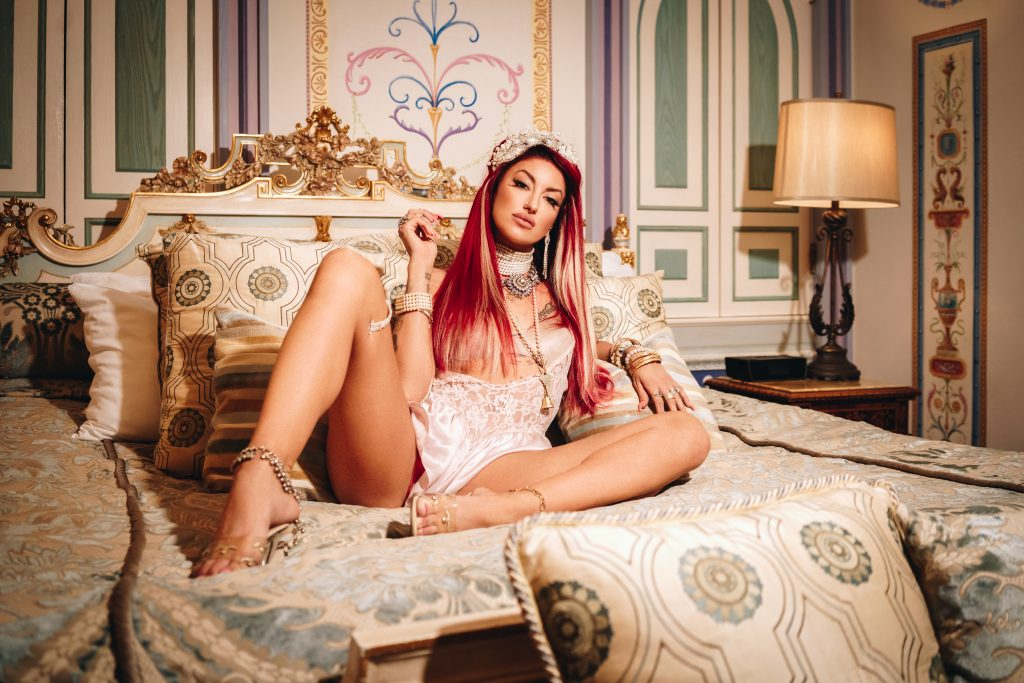 Neon Hitch Versace Mansion 2019