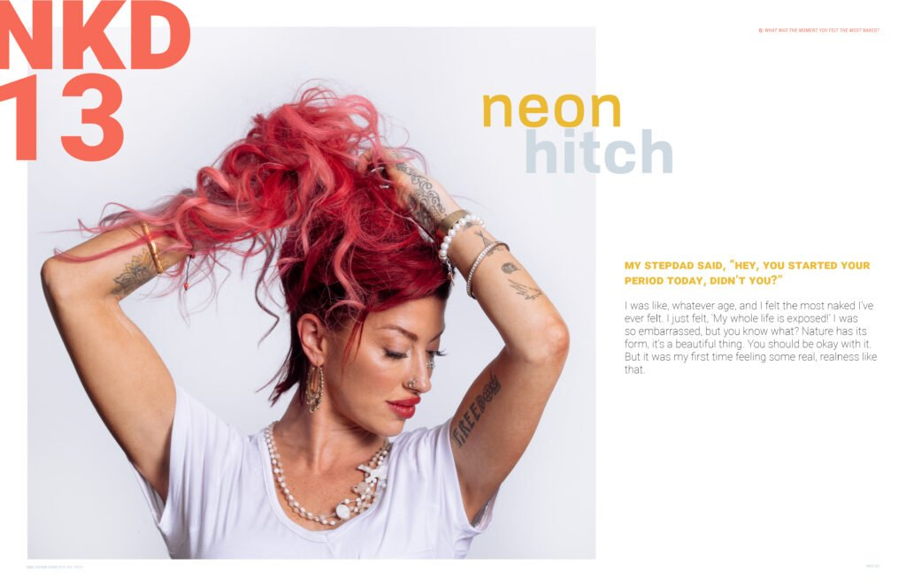 Neon Hitch NKD Magazine 2019